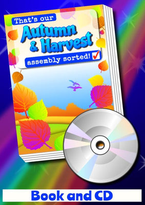 THAT'S OUR AUTUMN & HARVEST ASSEMBLY SORTED! - Book & CD