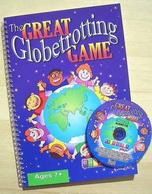 the great globetrotting game book and cd
