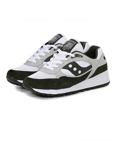Saucony Shadow 6000 White/Green – TGD