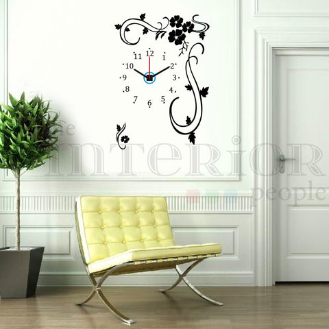 Corner Decal Clock (CL-15)
