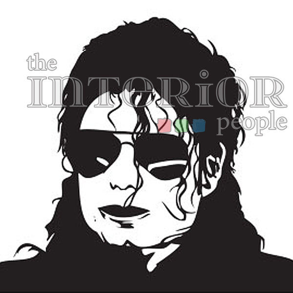 The MJ Wall Decal 8 (DC005078)