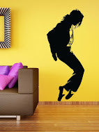 The MJ Wall Decal 2 (DC005043)