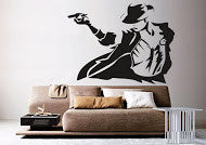The MJ Wall Decal (DC005042)