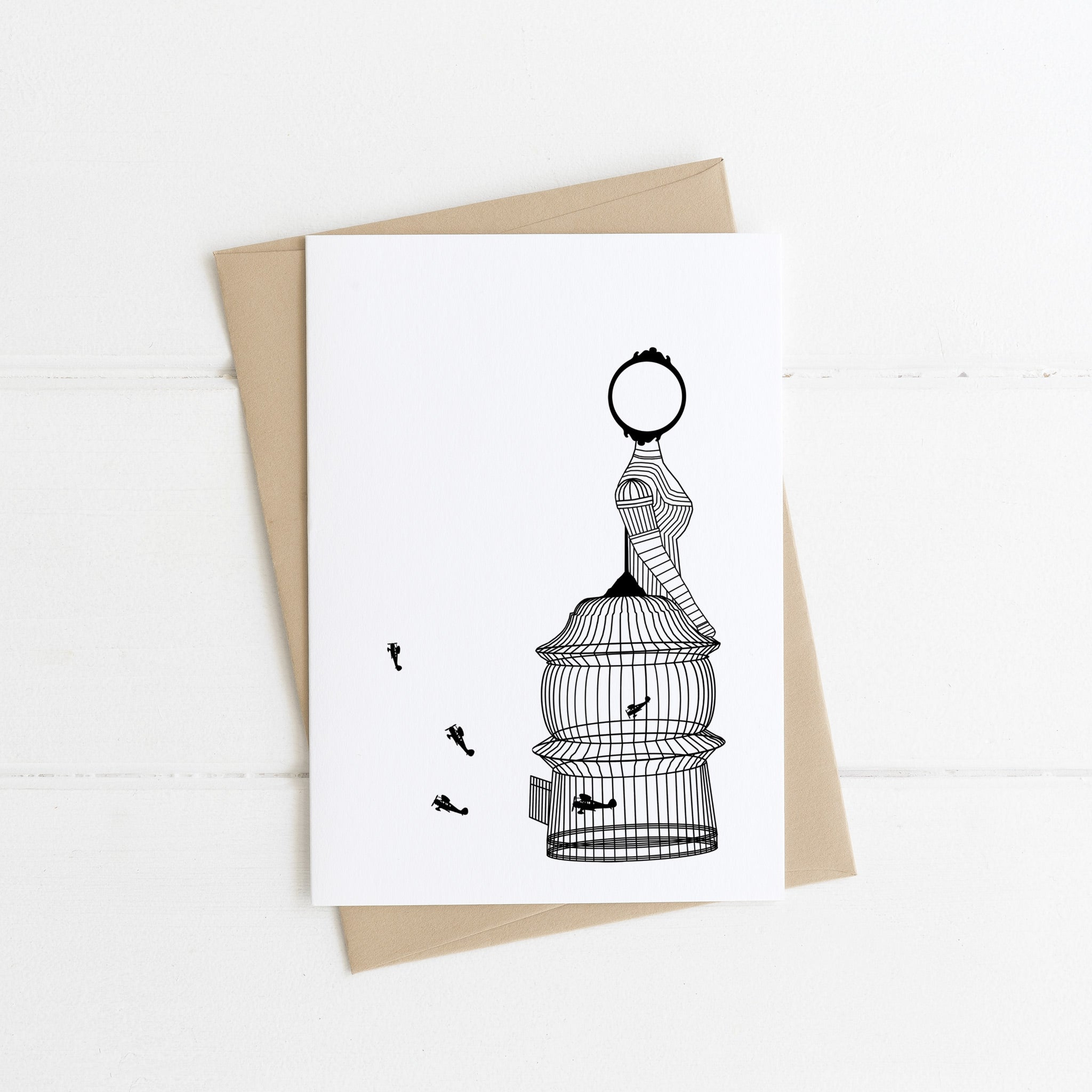 Birdcage Black Card