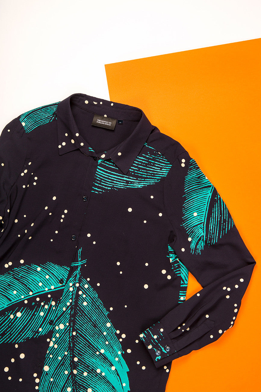 Cascade Shirt : Leaves
