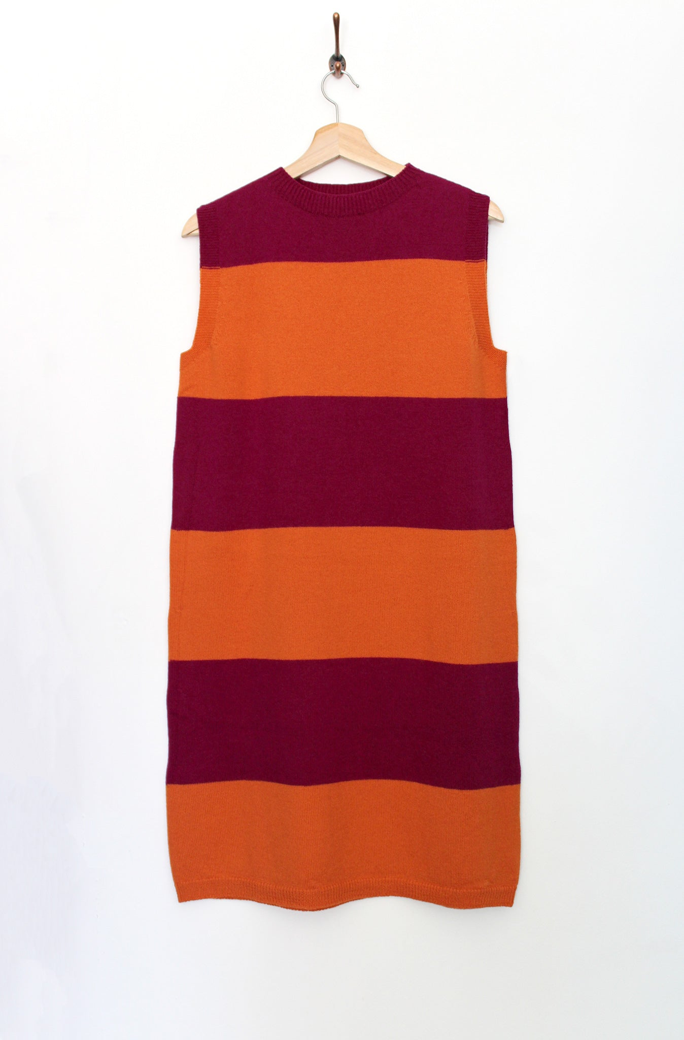 Cosy Dress : Magenta Orange