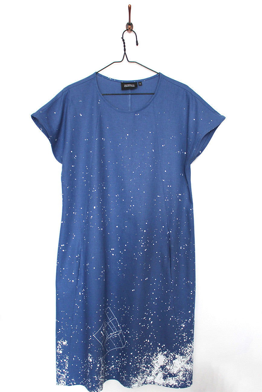 Diagonal Dress : Astronomical