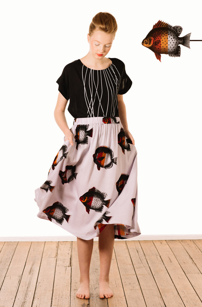 Floaty Skirt : Fishy