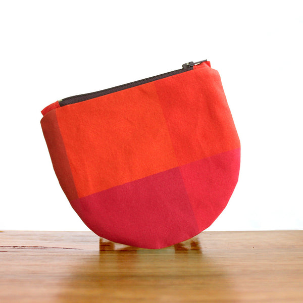 Half Moon Purse : Sunset
