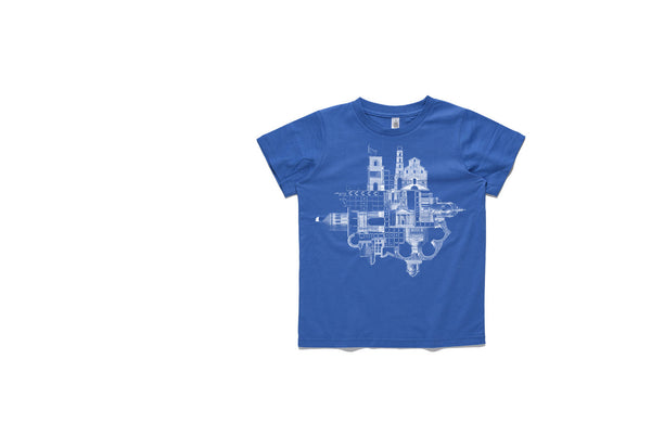 Folded City kids tee