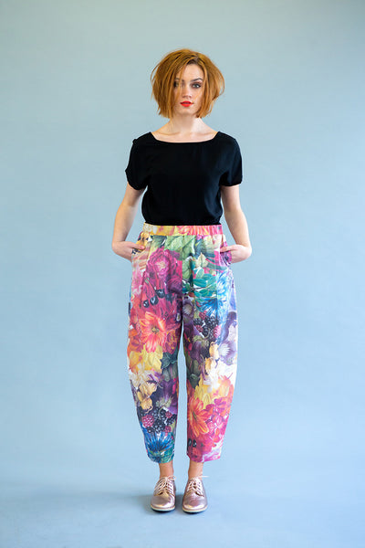 Radiant Pants : Flowers