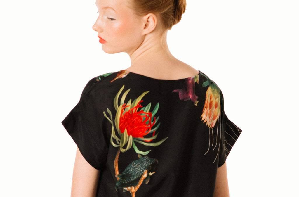 Royal Slouch Top : Flowerfish