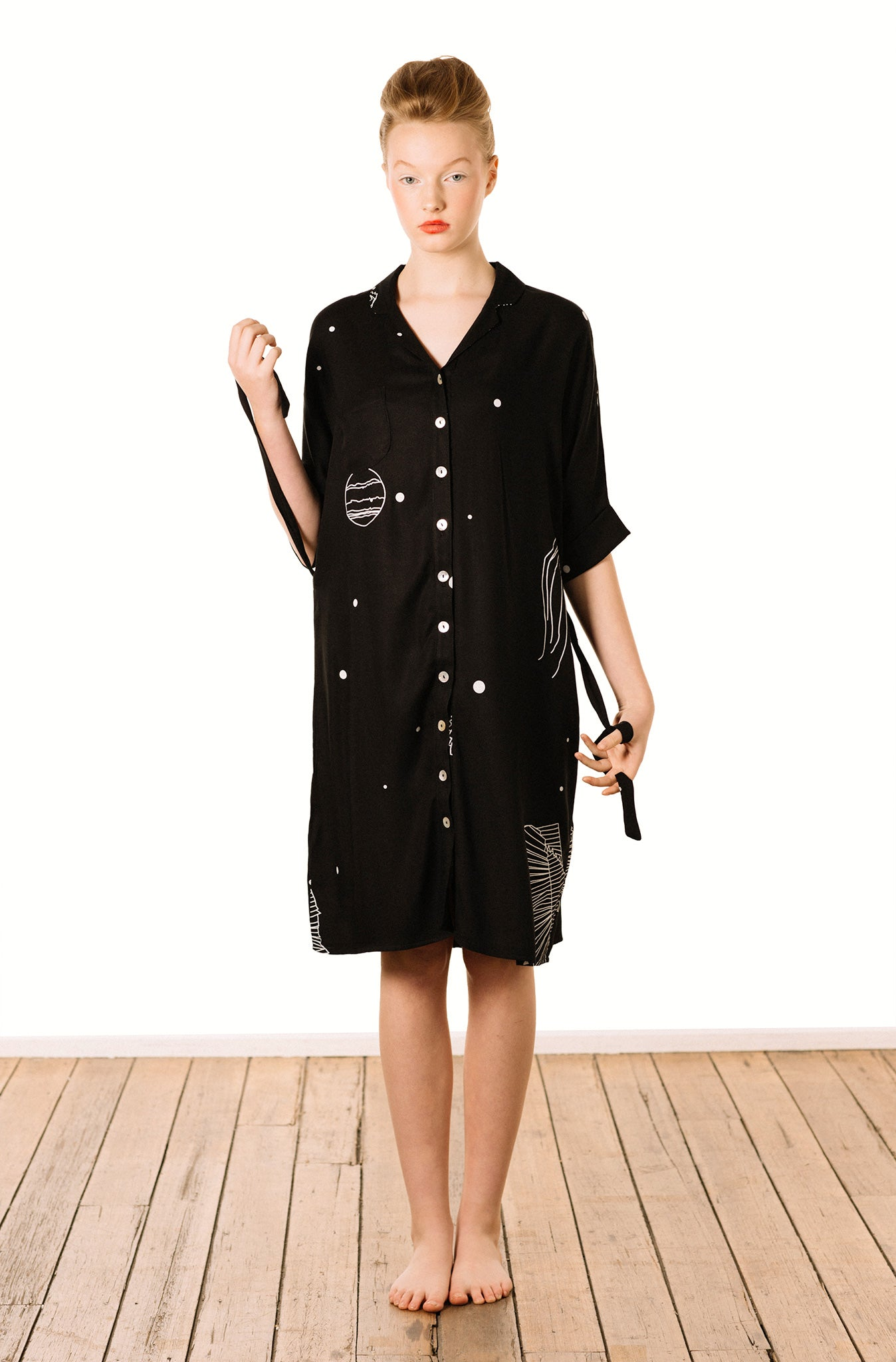 Shirt Dress : Freckles