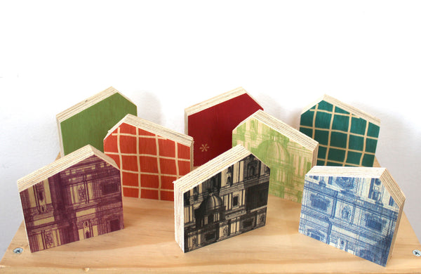 Wooden Blocks : Houses