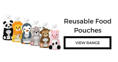 Reusable Food Pouches and bottles