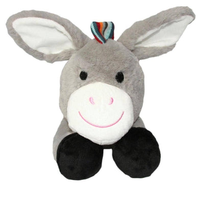 Don the Donkey Soft Toy Baby Comforter with Heartbeat Sounds