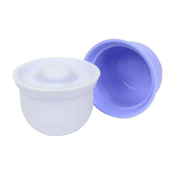 Weanmeister Mini Adora Silicone Bowls Twin Pack blue grey
