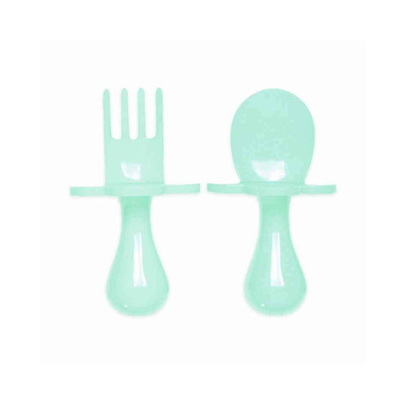Grabease Toddler Fork and Spoon Set