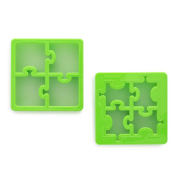 Lunch Punch Sandwich Cutters - Jigsaw Puzzles less waste