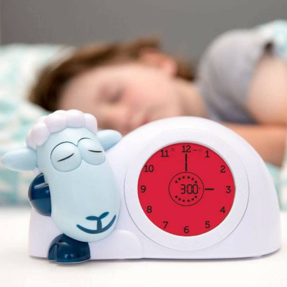 Sam the lamb sleep training clock for toddlers red to stay asleep