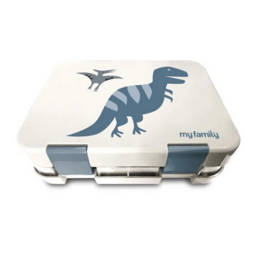 NEW TRAY - Easy Clean My Family Bento Lunch Box - Trex