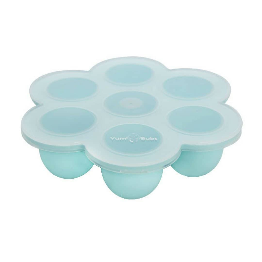 YumBubs Freezer Tray For Homemade Baby Food turquoise