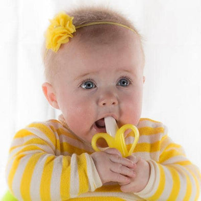 Baby Banana Teething Toothbrush for babies