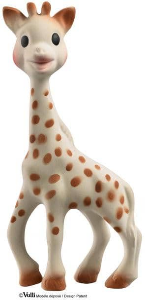 Sophie the Giraffe So Pure Trio teething toys