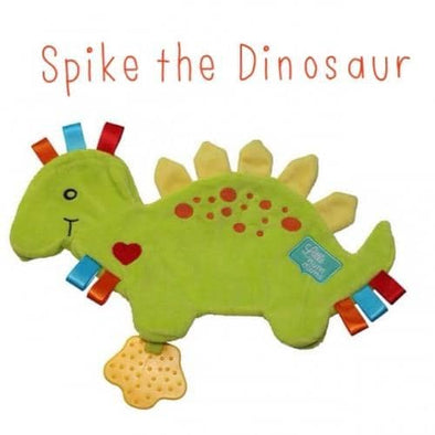 Spike the Dinosaur Taggie Comforter
