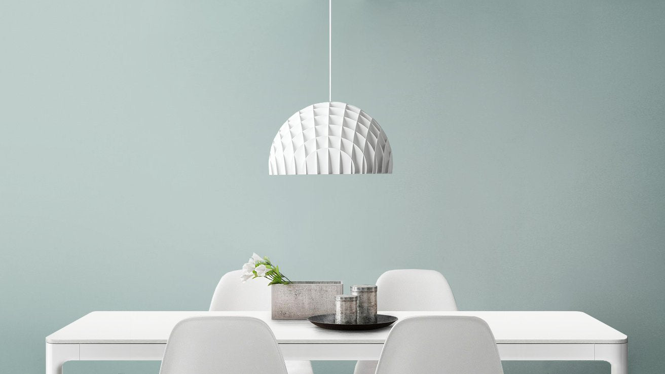Arc Pendant White