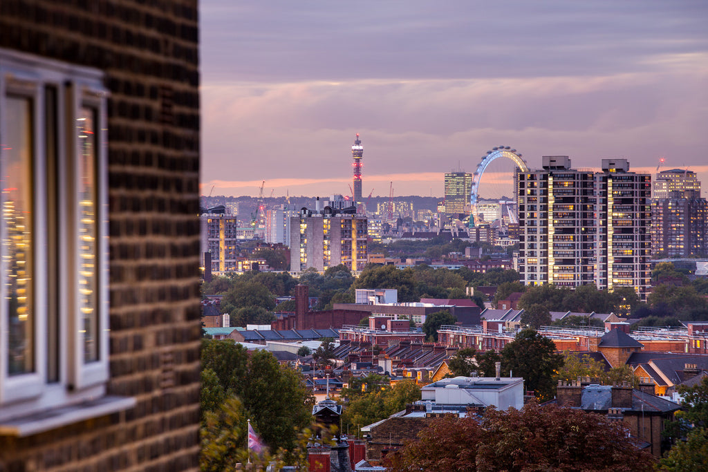 From Camberwell towards the London Eye and beyond