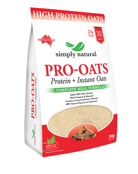 Pro Oats Natural Cinnamon