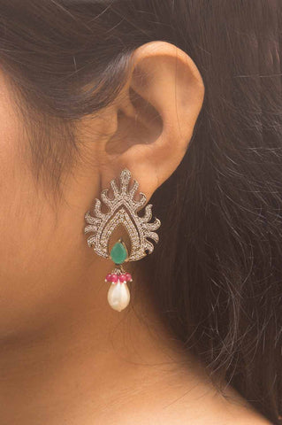 Agni Gold-plated Earrings