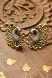 Mayur Gold Plated Silver Studs