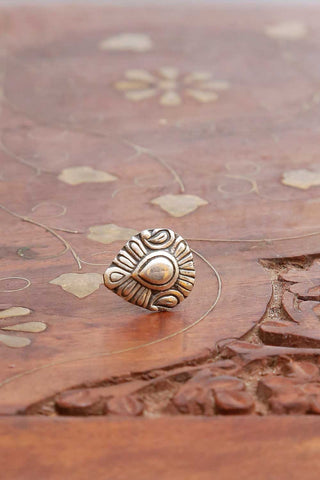 Ethnic Silver Nose pin