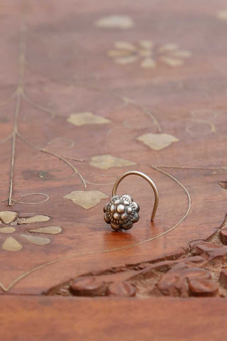Kusum Silver Nose pin