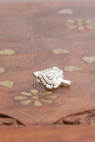 Sneha Silver Nose pin