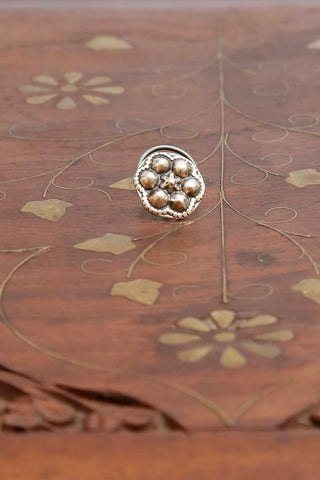 Kumud Silver Nose pin