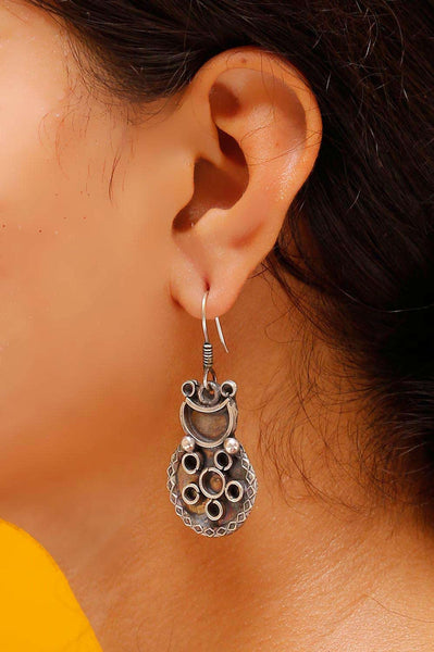 Tribal Flower Earrings