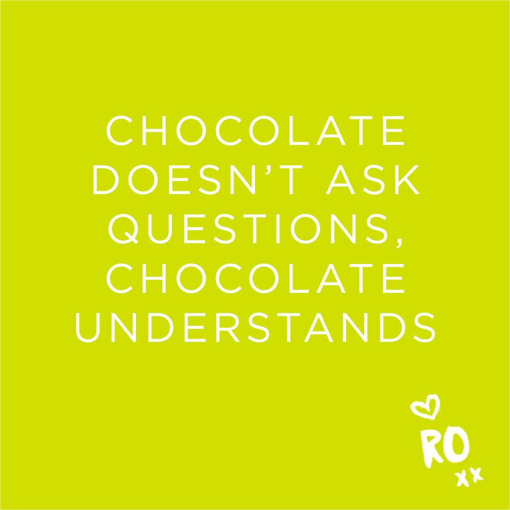 RO QUOTE // Monday means Dark Choc Tim Tams