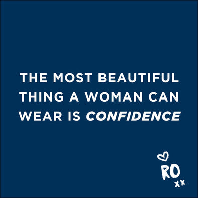 RO QUOTE // The most beautiful thing a woman can wear...