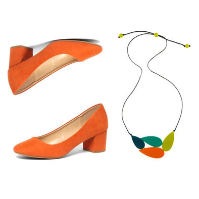 SHOESDAY // Move over blue suede, orange suede is here to stay!