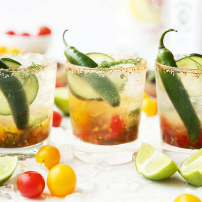 CHEERS // A Spicy Tomato Gin and Tonic ticks every box