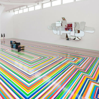 RO INSPIRED // Rainbow installations by Jim Lambie