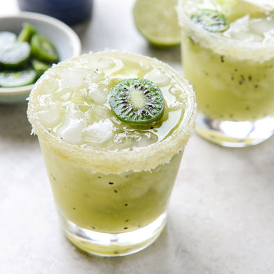 CHEERS // A kiwi margarita cocktail sounds good, right about now