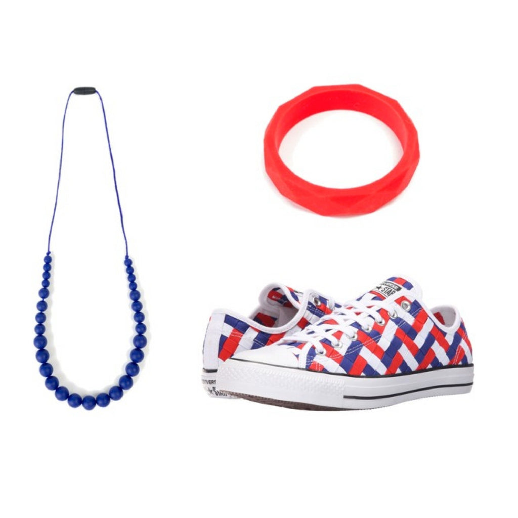 SHOESDAY // Red, white and blue... Converse Sneakers!