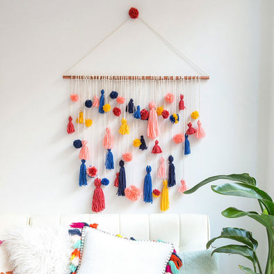 RO CRAFT // Pom Poms plus Tassels equal the best ever crafternoon