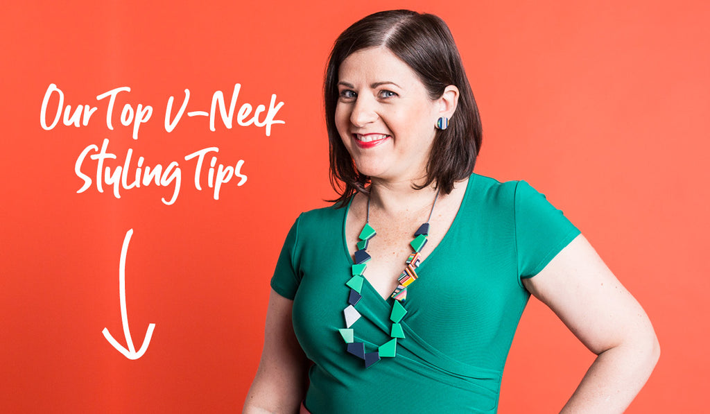 Top Tips for Styling a V-neck