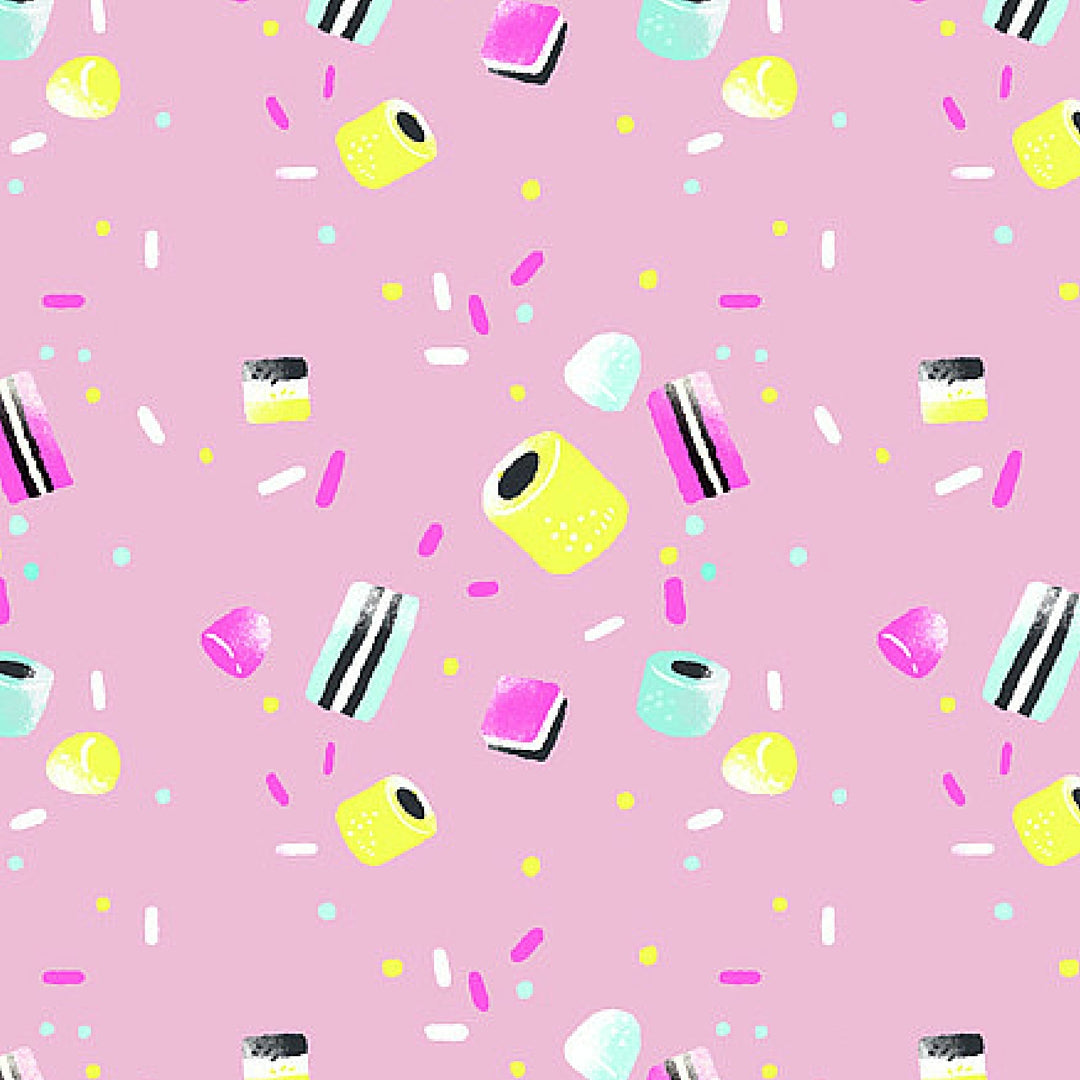 Colourful Print by Emma Trithart Candy