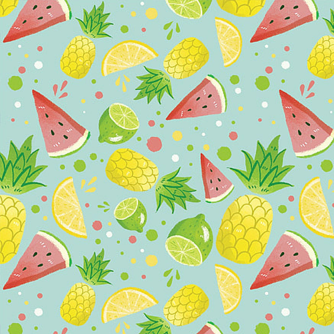 Colourful Print by Emma Trithart Fruity